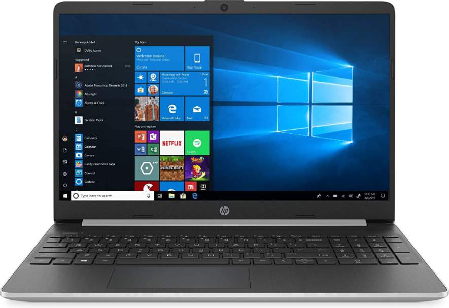 "HP 15.6"" HD Touchscreen Laptop Intel Core i3-1005G1 8GB DDR4 RAM 128GB SSD"