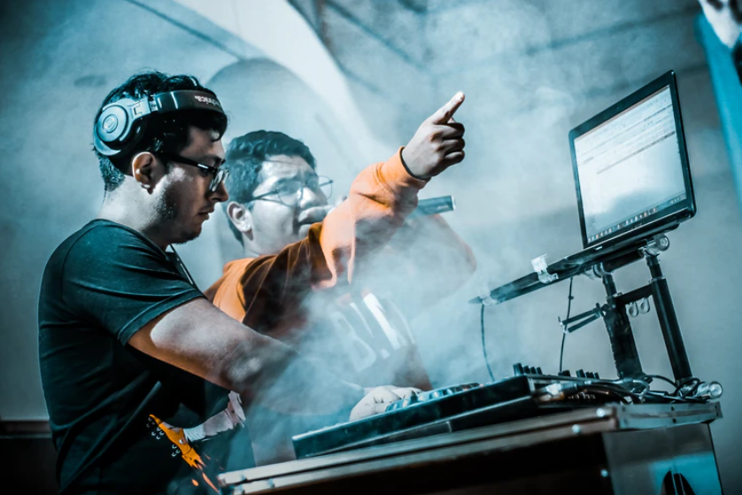 performances of electronic music