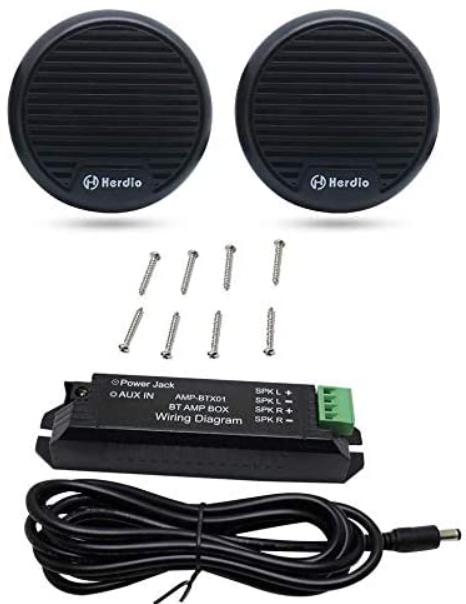 """Herdio 3"""" inch Motorcycle Bluetooth Speakers"""