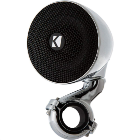 KICKER 40PSM34 4 Ohm Mini Weatherproof Speaker System for Motorcycle & ATV