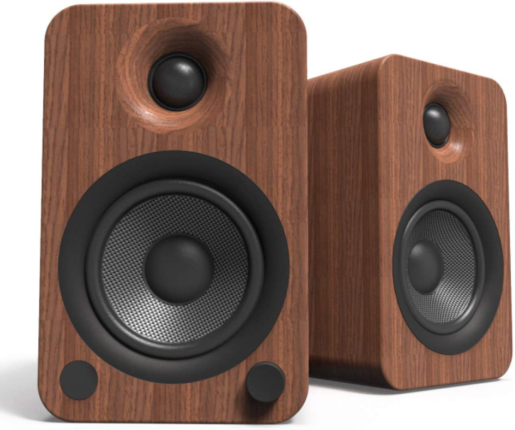 Kanto YU4 140W Powered Bookshelf Speakers with Bluetooth and Phono Preamp