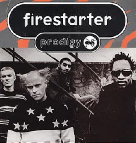 The Prodigy - Firestarter poster